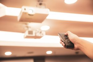 Professionelle Präsentationen mit dem Overhead-Projektor