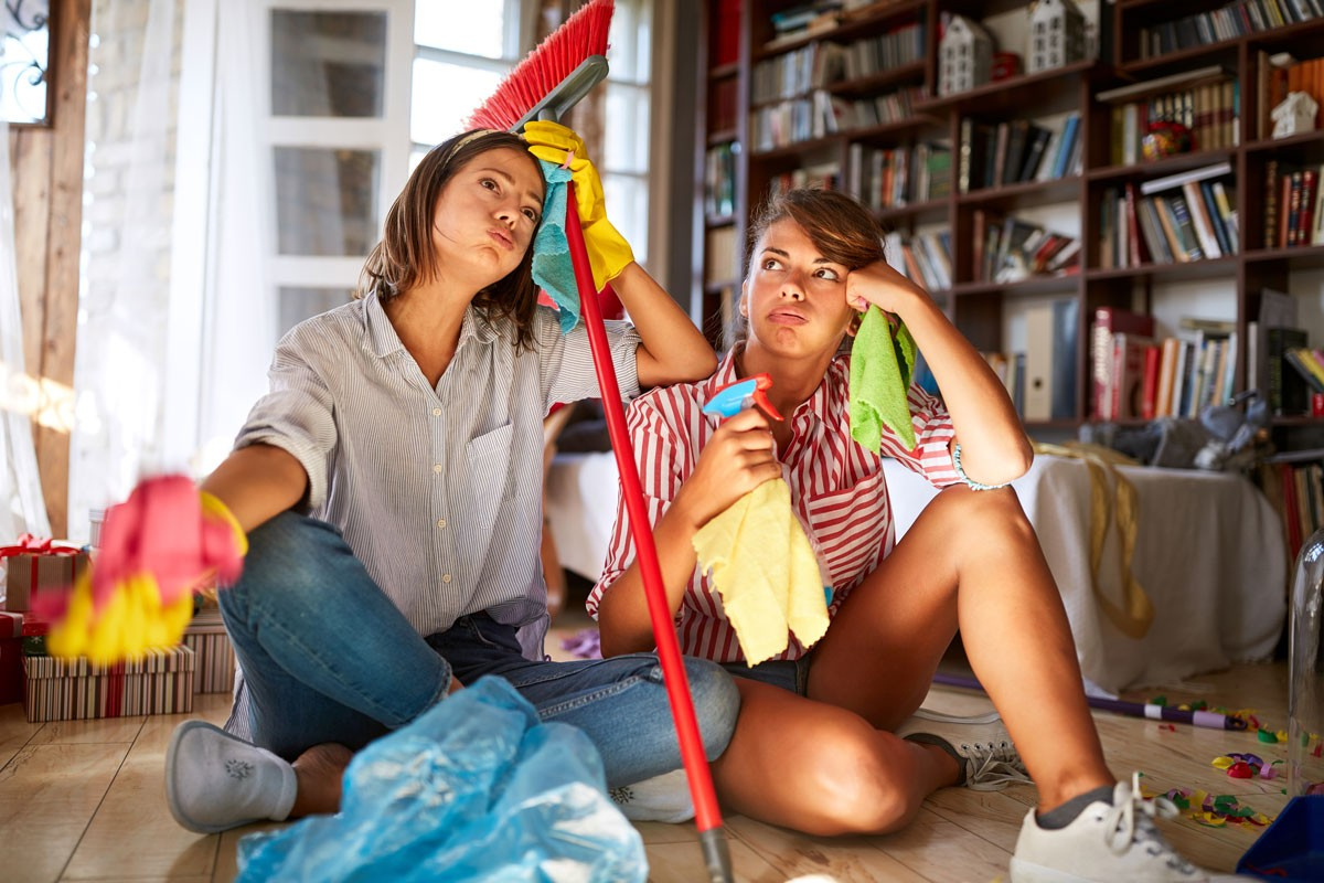 Aufräumen: Die Top 5 des Entrümpelns - Wie Sie aus Unordnung Ordnung schaffen können