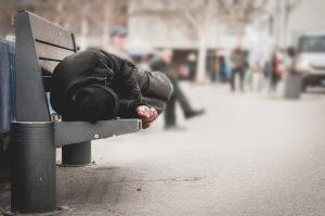 Obdachlose haben ein Recht auf Krankenpflege