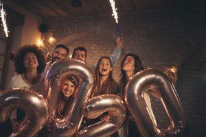 Neujahrsgrüße - Heben Sie sich von der Masse ab