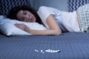 Schlafmittel sollten immer mit Vorsicht genossen werden