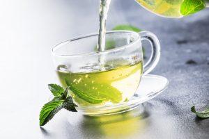 Grüner Tee schützt vor Dioxin