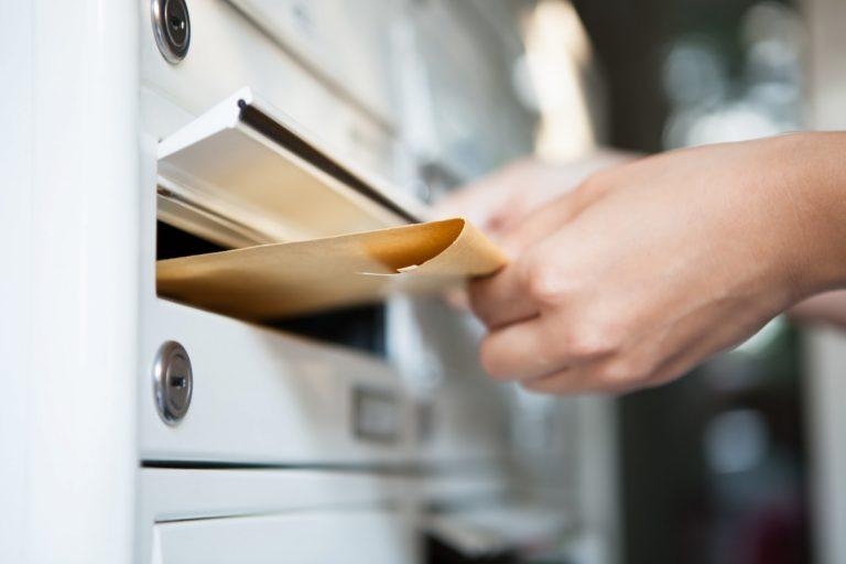 Postverkehr: Codierzone auf Postkarten und Briefumschlägen