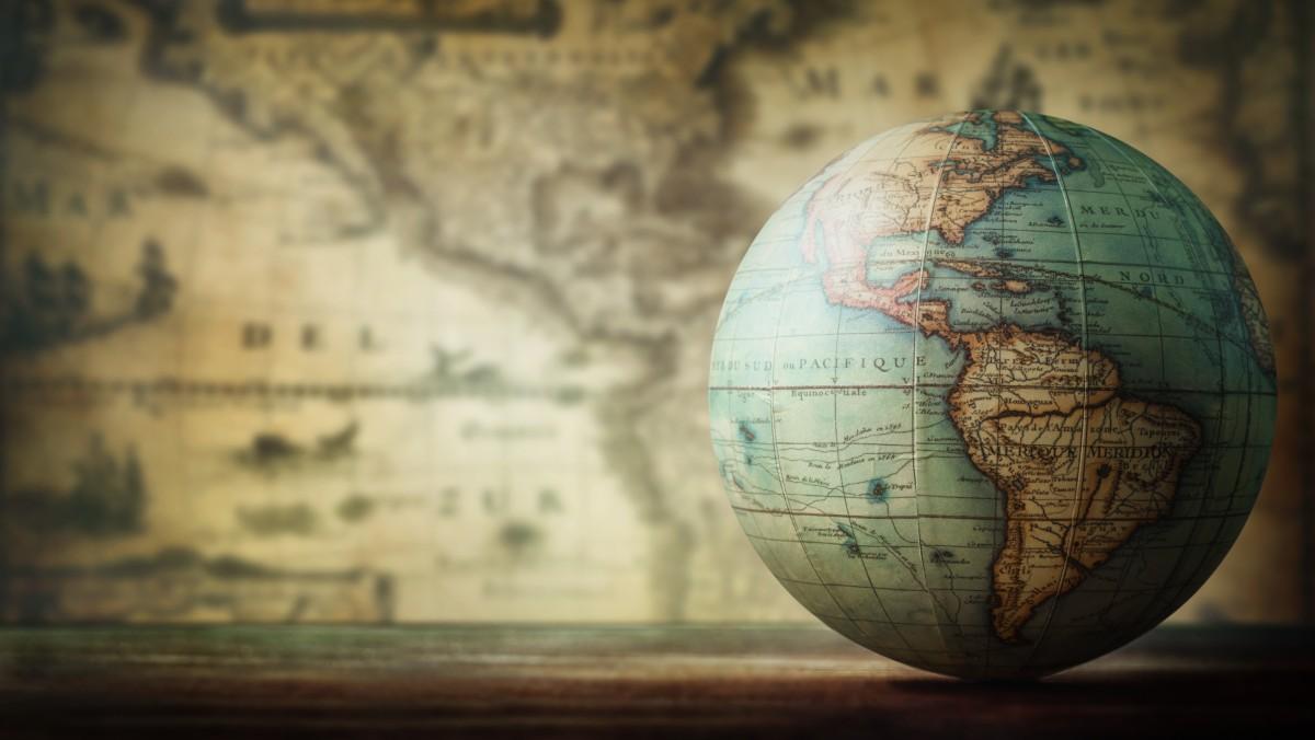 Seit wann wird der Globus genutzt