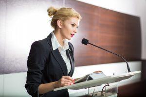 Rhetorik: Reden Sie nur, wenn Sie Ihrem Publikum etwas zu sagen haben