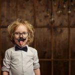 Kleinkinder mit Sinn für Humor?