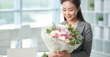 Kennen Sie die Blumenstrauß-Etikette?