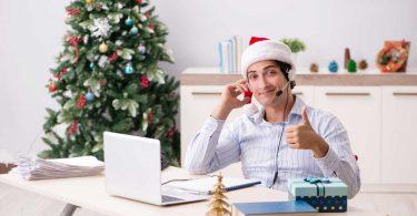 Vor dem Weihnachtsurlaub: Mustertexte für Ihre Abwesenheitsnotiz