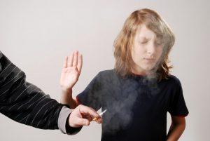 Passivrauchen begünstigt Allergien