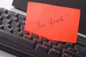 Krankmeldung: Wozu Sie das Arbeitsrecht verpflichtet