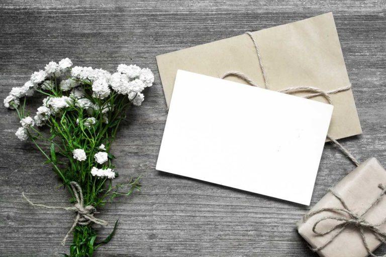Glückwunschkarte - persönlich und kreativ mit der richtigen Technik