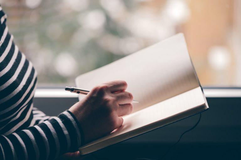Tagebuch schreiben - modern und hilfreich