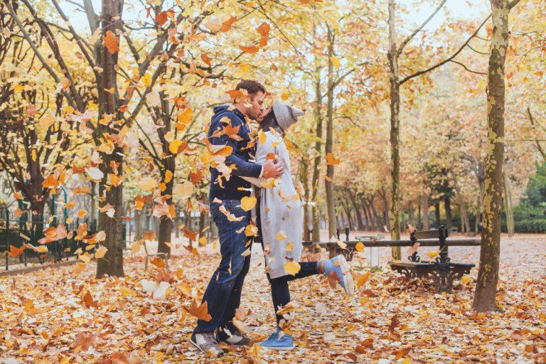 In der Liebe sollte immer Frühling sein - auch im Herbst