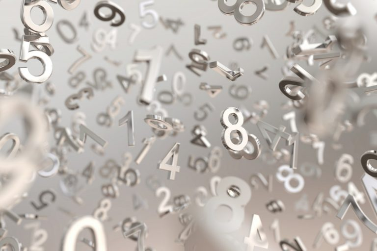 Zahlen präsentieren auf Französisch