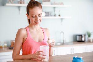 Proteine sind wichtig für den Muskelaufbau