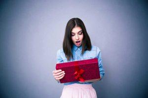 Ein Geschenk dürfen Sie ruhig mit einem Umtauschangebot verbinden