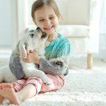 Kinder lieben Haustiere