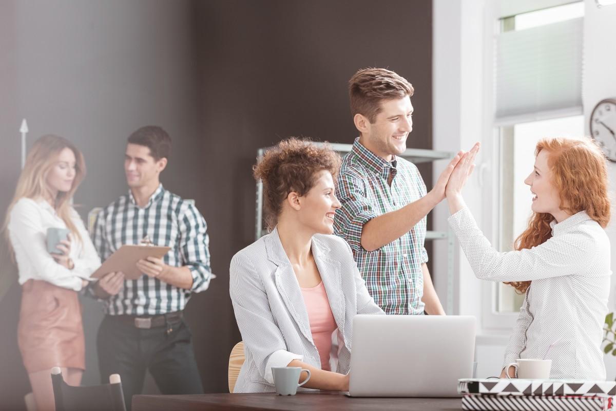 Weniger Stress durch ein positives Arbeitsumfeld