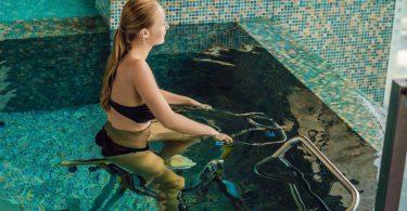 Aqua-Jogging: Power durch Wasserkraft