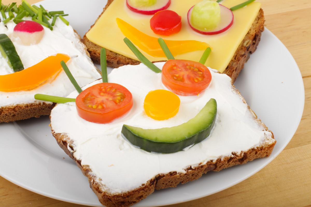 Pausenbrote: Das Auge isst mit
