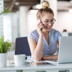 Telefonieren auf Französisch - Erreichbarkeit und Gesprächsvermittlung (Teil 4)