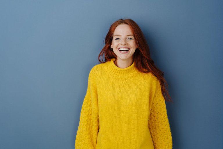 Lachen ist gesund und hilft Stress abzubauen