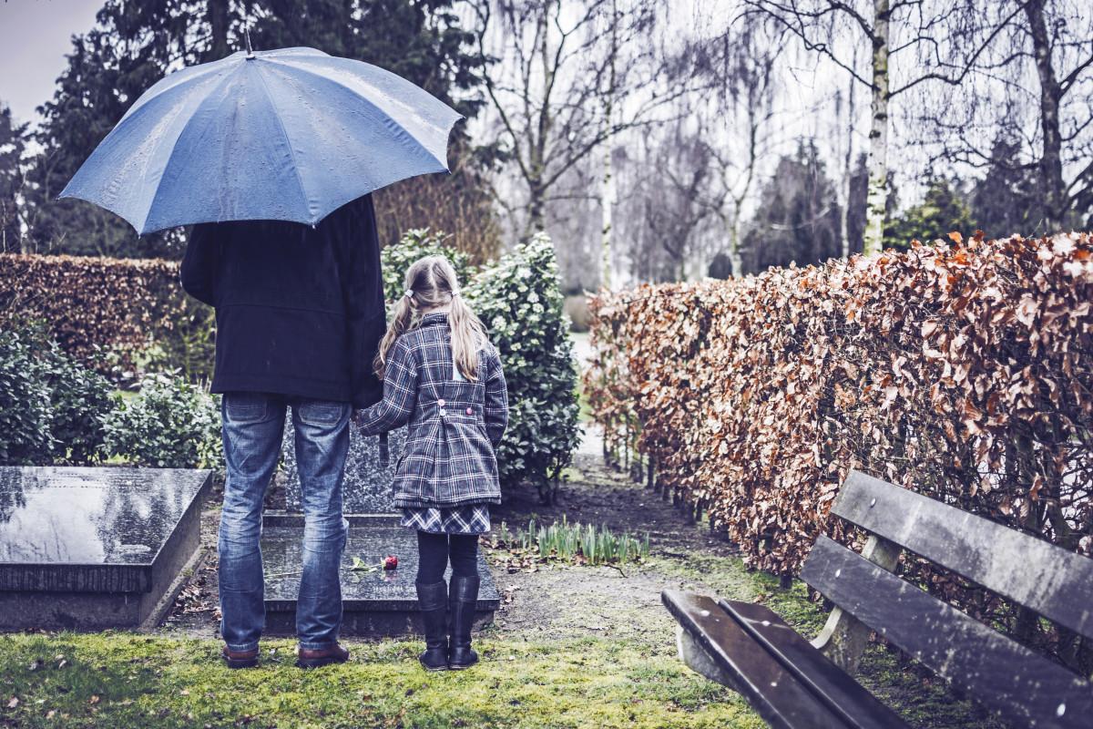 Kinder wollen über den Tod sprechen