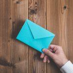 Briefe per Hand schreiben im Geschäftsleben