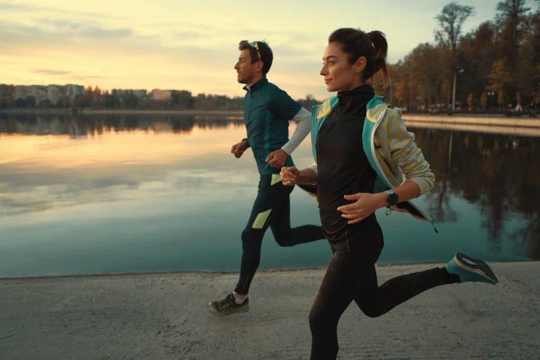 Laufen ist der ideale Fatburner