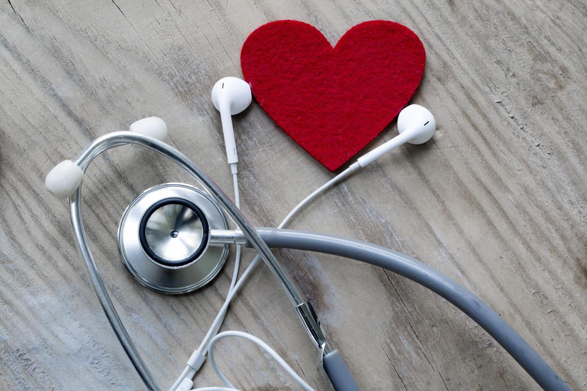 Stress beim Arzt? Musik entspannt!