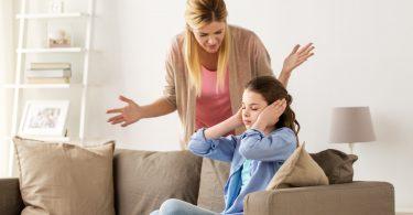 Wenn Mütter wütend auf ihre Kinder sind