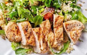 Gesund Abnehmen mit Salat?