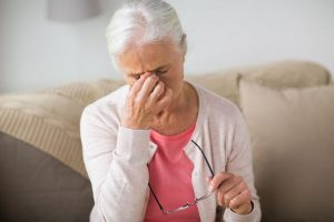 Müdigkeit im Alter