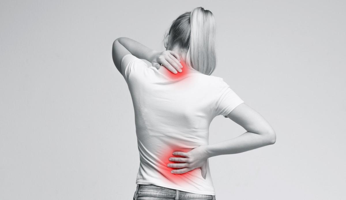 Rücken: Stress verursacht Rückenschmerzen