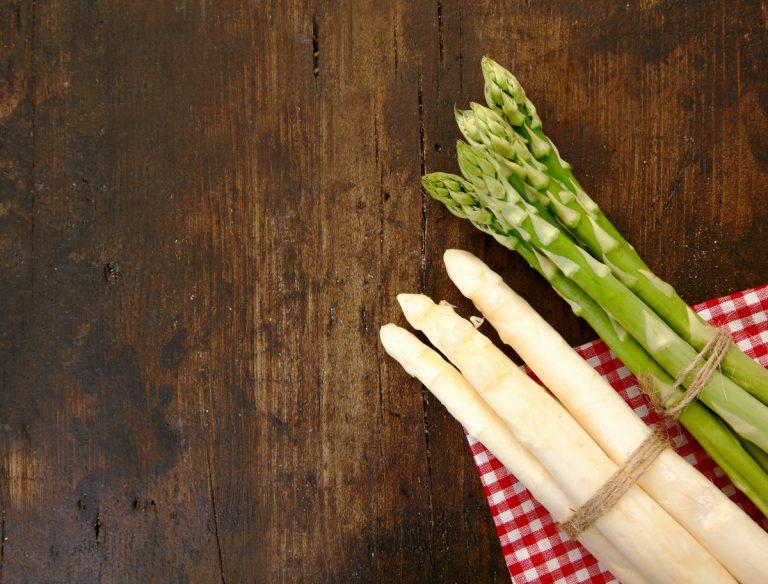 Gesunde Ernährung mit Spargel