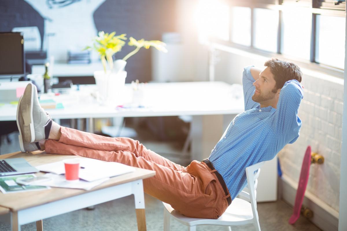 Stress: spontane Entspannung im Büro