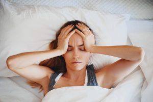 Kopfschmerzen durch zuviel Stress
