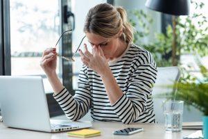 Stress-Symptome: Wenn der Stress zuviel wird