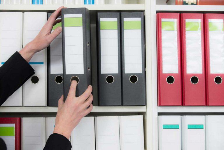 Tipps für die Arbeitsorganisation: Aktenordner & Co.