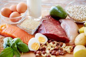 Schlank mit den richtigen Lebensmitteln: Fisch, Fleisch und Brot (Teil 1)