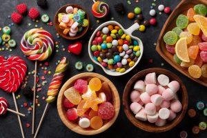 Kalorientabelle 8: Süßwaren und süßer Brotaufstrich