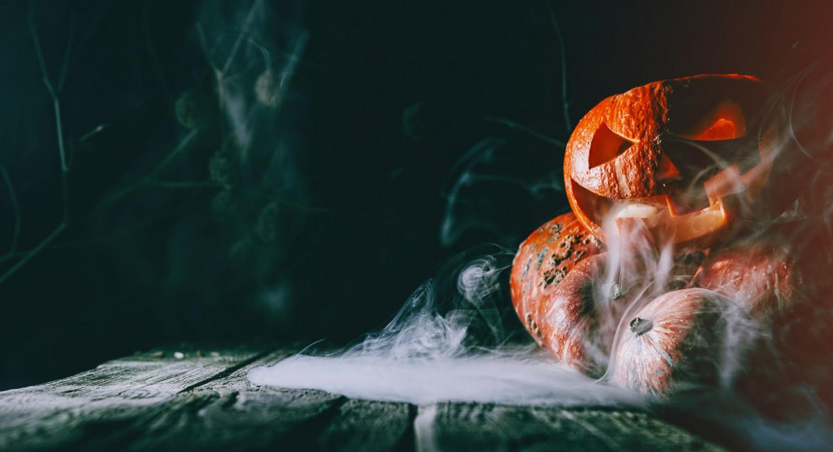 Basteln für ein gruseliges Halloween-Fest