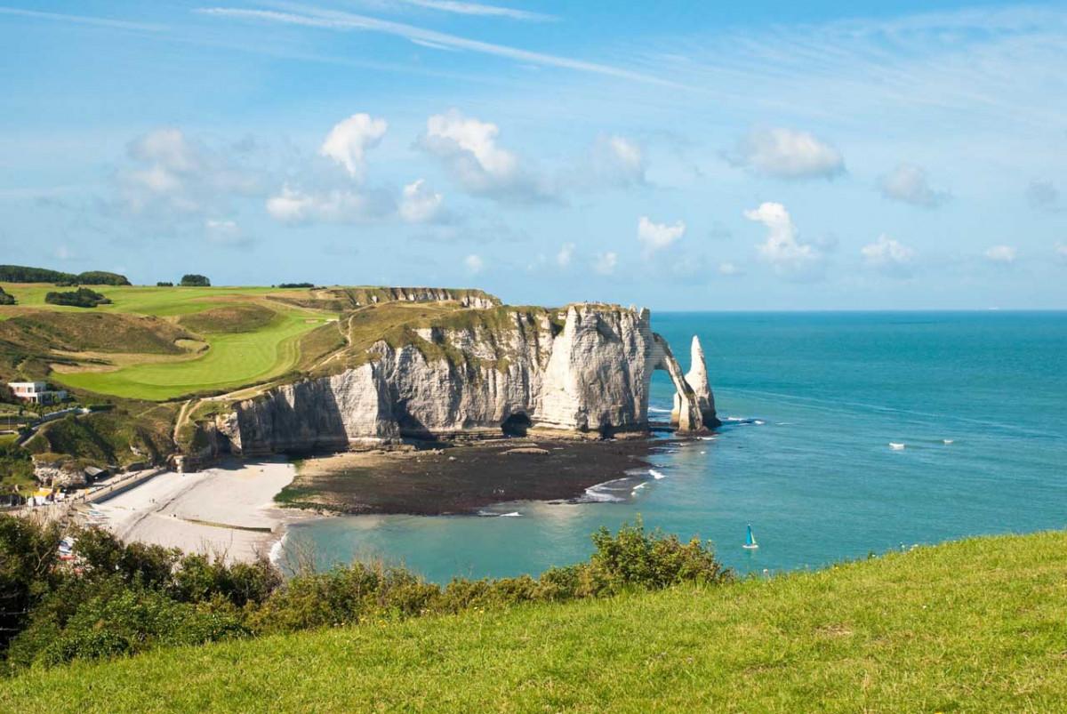 Besuch in der Normandie