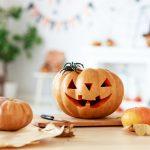 Basteln für Halloween: Maismonster