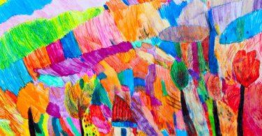 Kinderzeichnungen: Verrückte Farben sind normal