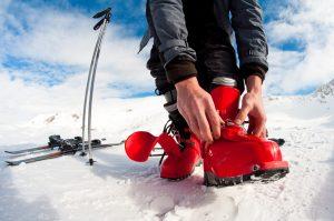Wie finde ich passende Skischuhe?