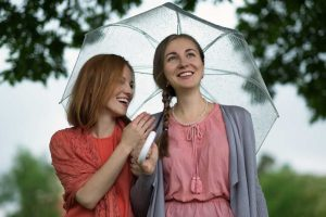 Regen als Smalltalk-Thema