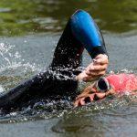Triathlon Schwimmtraining im Winter