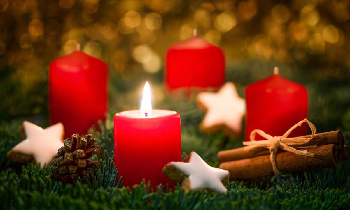 Alte Weihnachtskalender.Der Adventskalender Eine Alte Tradition