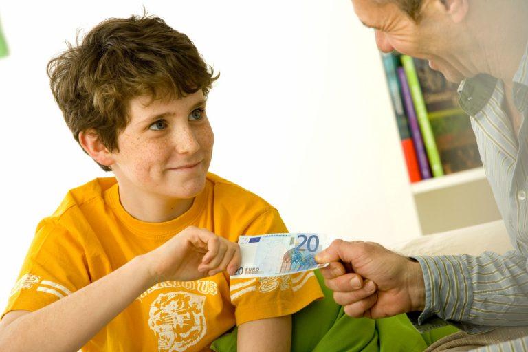 Taschengeld: Wieviel ist richtig?